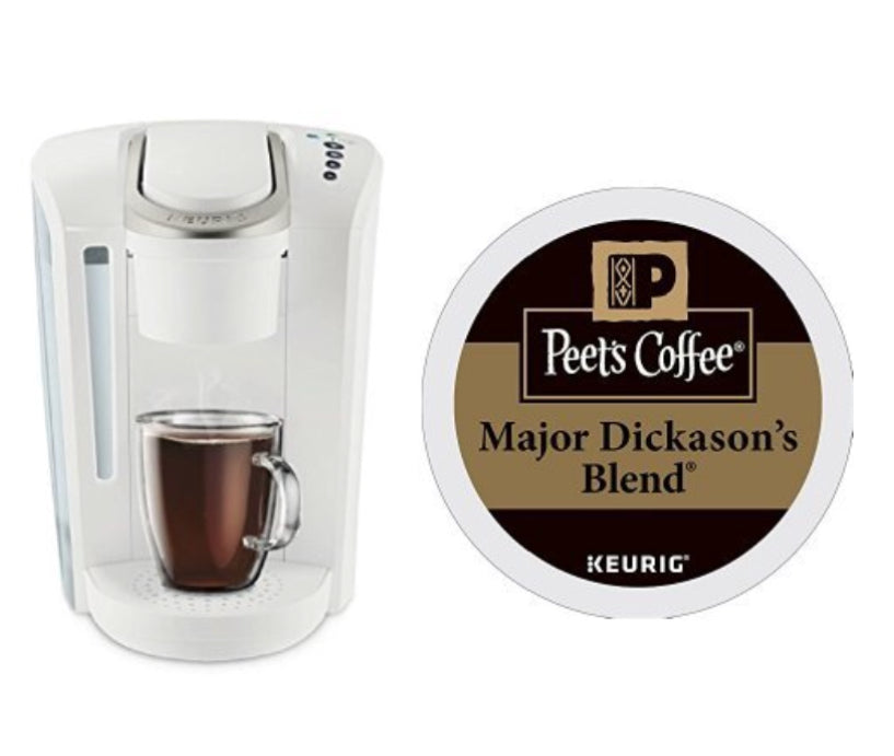 Keurig K Select Coffee Machine And 32 Peets Coffee K Cups Pzdeals