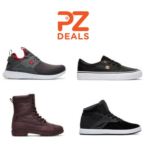 Extra 40% off already discounted men's, women's & kids shoes from DC Shoes