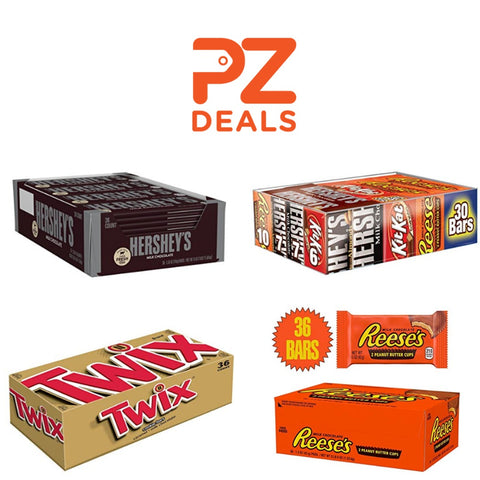 30 or 36 Chocolate candy bars on sale