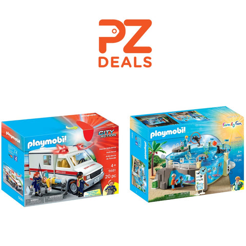 Up to 50% off Playmobil sets