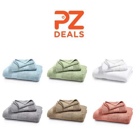 Cotton hand and bath towels on sale