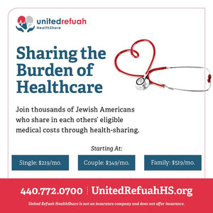 Join thousands of Jewish Americans who share in each other's eligible medical costs through health-sharing!