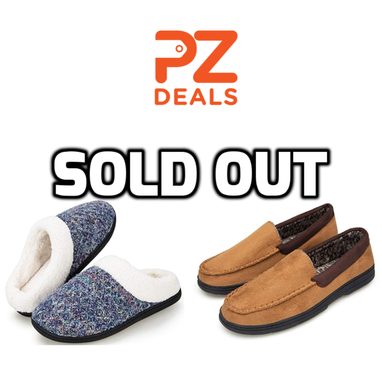 f850af270aa Men s and Women s Memory Foam House Slippers – PzDeals