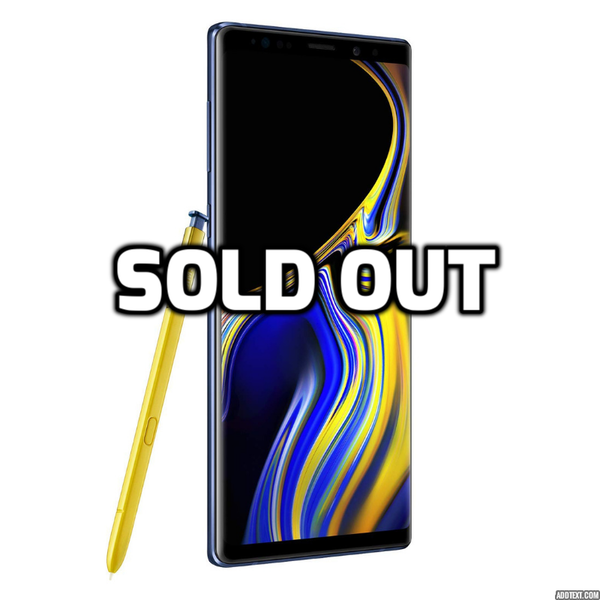 Brand New Unlocked 128GB Samsung Galaxy Note 9
