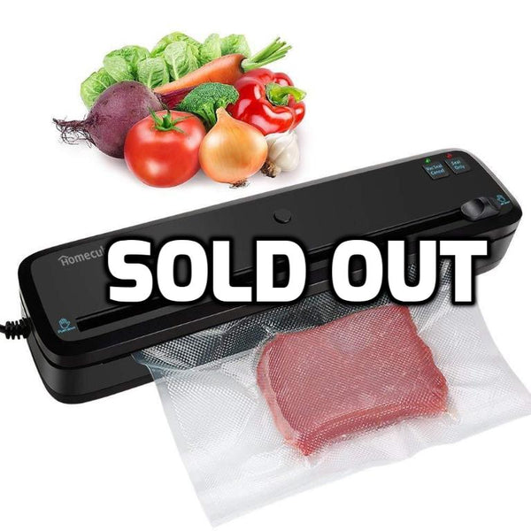 4-in-1 automatic vacuum sealer with cutter