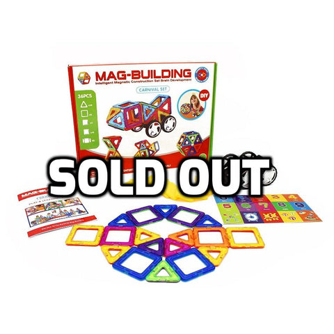 Magnetic Building Blocks Construction Toy