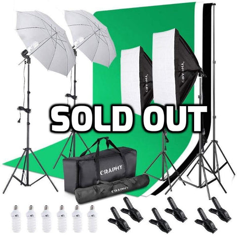 Photography Studio Video Shoot Kit