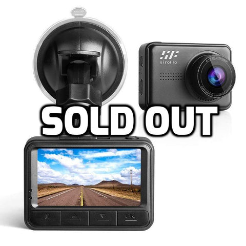 1080p dash cam with loop recording