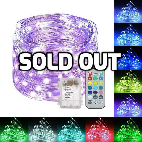 120 LED string lights
