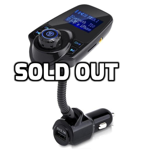 Bluetooth FM transmitter car kit