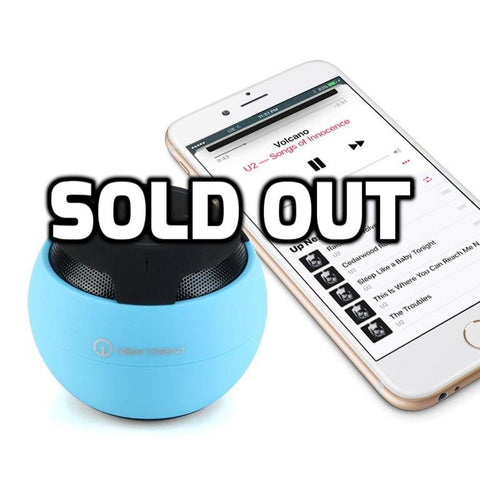Bluetooth speaker with hands free phone calling