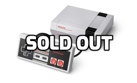 NES is back in stock on Amazon!
