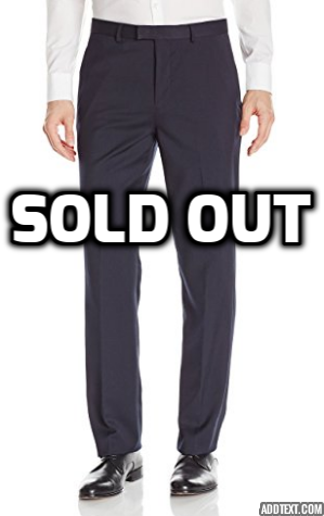 Calvin Klein men's navy dress pants
