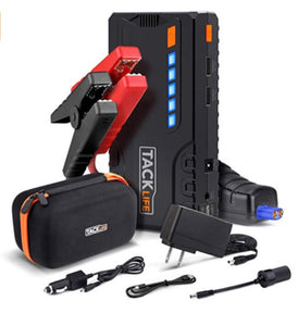 TACKLIFE T6 600A Peak 16500mAh SuperSafe Car Jump Starter with Quick Charge