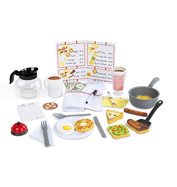 41-Piece Melissa & Doug Star Diner Restaurant Play Set