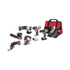 8 Tool PORTER-CABLE 20V MAX Cordless Drill Combo Kit