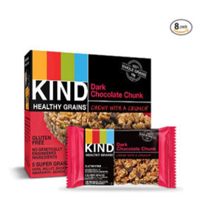 40 KIND Dark Chocolate Chunk Healthy Grains Bars
