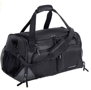 Duffel Bag with Shoes Compartment & Wet Pocket (4 Colors)