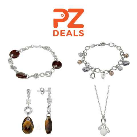 Up to 80% off Fossil sterling silver jewelry from Ashford