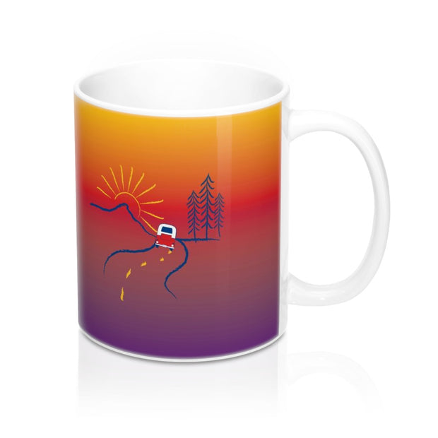 On the Road Ceramic Mug 11oz