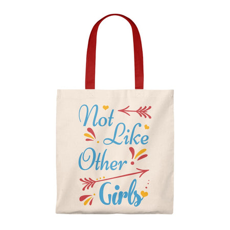 Not Like Other Girls Vintage Tote