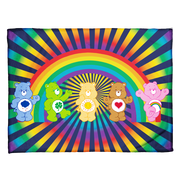 Care Bears Rainbow Bears Coral Fleece Blanket