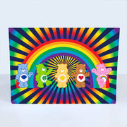 Care Bears Rainbow Greeting Card