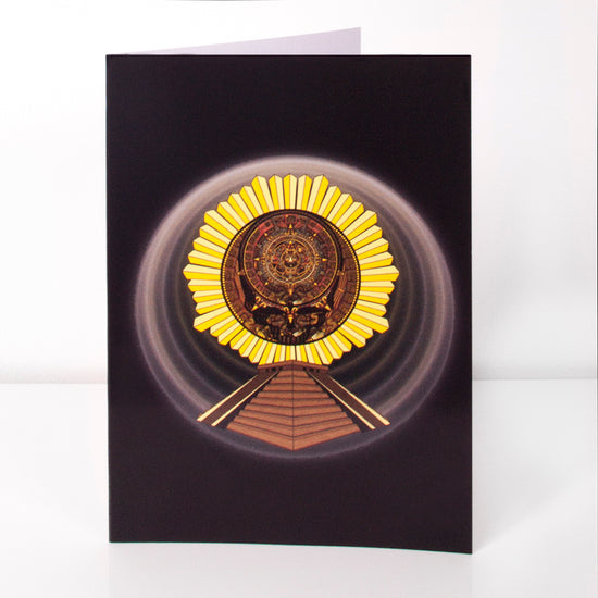 Grateful Dead Aztec Stealie Greeting Card