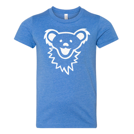 Grateful Dead Dancing Bear Face Youth T Shirt
