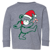 Grateful Dead Santa Bear Toddler Long Sleeve T