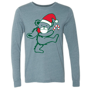 Grateful Dead Santa Bear Unisex Long Sleeve T