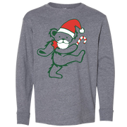 Grateful Dead Santa Bear Youth Long Sleeve T