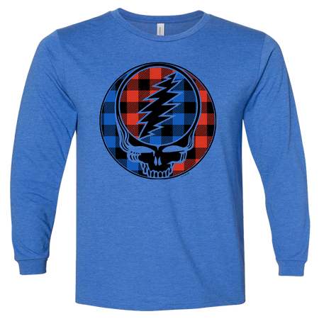Buffalo Plaid Stealie Youth Longsleeve
