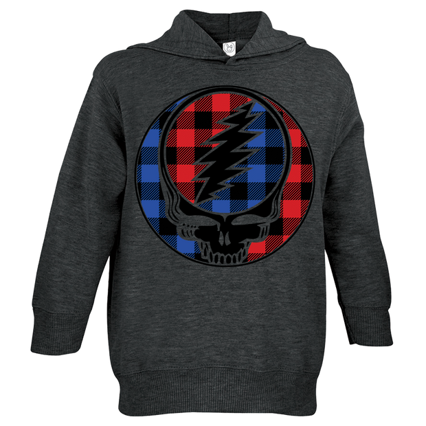 Buffalo Plaid Stealie Toddler Hoodie