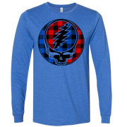 Buffalo Plaid Stealie Unisex Longsleeve