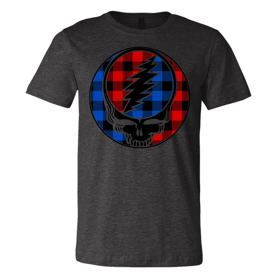 Buffalo Plaid Stealie Unisex T