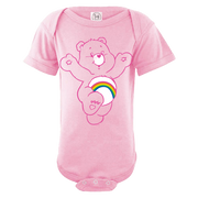 Care Bears Cheer Bear Baby Short Sleeve One Piece