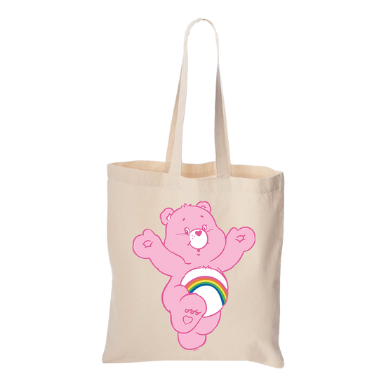 Care Bears Cheer Bear Canvas Tote Bag
