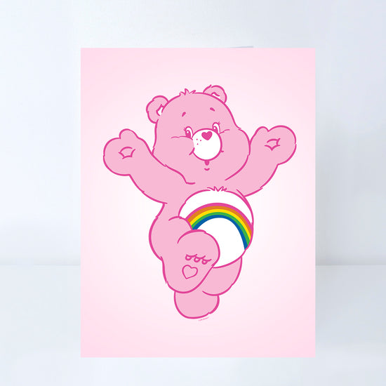 Care Bears Cheer Bear Greeting Card