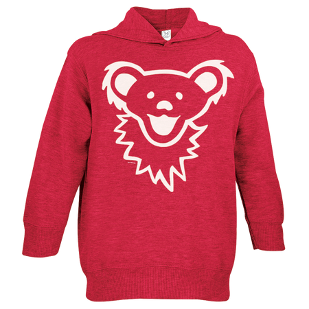Grateful Dead Dancing Bear Face Toddler Hoodie