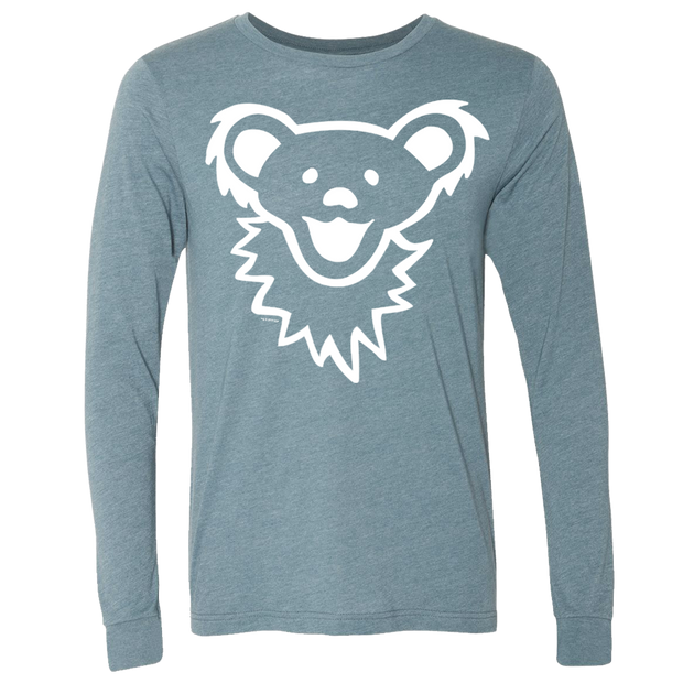 Grateful Dead Dancing Bear Face Unisex Longsleeve