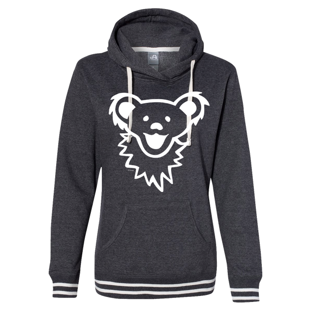 Dancing Bear Face Women's Hoodie