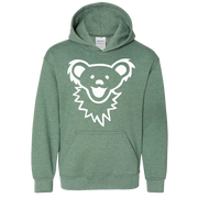 Grateful Dead Dancing Bear Face Youth Hoodie