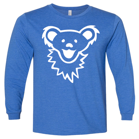 Grateful Dead Dancing Bear Face Youth Longsleeve