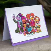 Jim Henson's Fraggle Rock Winter Greeting Card