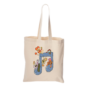 Jim Henson's Fraggle Rock Music Note Canvas Tote Bag