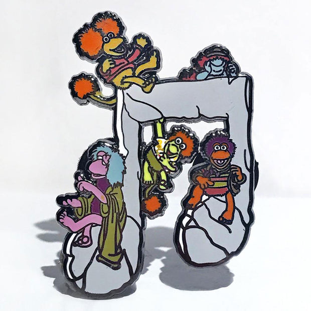 Jim Henson's Fraggle Rock Music Note Pins