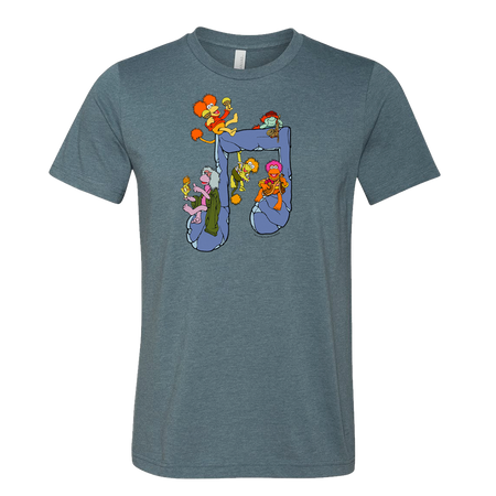 Jim Henson's Fraggle Rock Music Note Unisex T