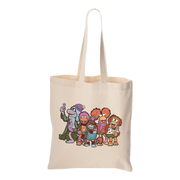Jim Henson's Fraggle Rock Winter Canvas Tote Bag