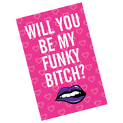 Funky Bitch Valentine Card